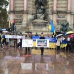 Stop putin's War: В 70 городах мира начался антивоенный протест украинцев