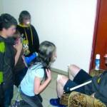 Дети слизывали сливки с колен священника