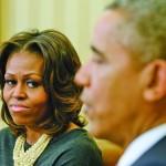 Одинокая миссис Обама
