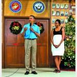 На Рождество Обама… занимался спортом