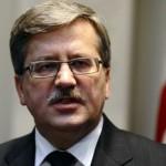 Коморовский позвонил Януковичу и призвал «остановить кровь»