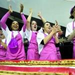 Самый длинный кремовый торт – в Женеве