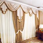 Самое лучшее дополнение в интерьере это шторы , приобрести их в ателье штор
