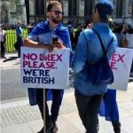 В Лондоне противники Brexit прошли многотысячным «маршем за Европу»