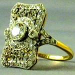 Бриллиантовые кольца с «Титаника»