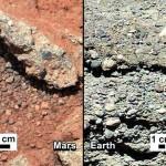 Curiosity нашел на Марсе следы воды