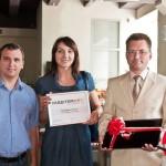 Победителем акции «500 000 сертификатов» от АЦСК «MASTERKEY» стала бухгалтер из Львовщины