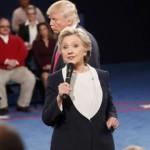 Клинтон победила Трампа во втором раунде дебатов