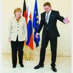 Ангела Меркель: «Сделайте свой вклад». А Фицо говорит: «Мы уже сделали»…