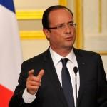 Олланд призвал Россию прекратить поставлять оружие боевикам на Донбассе