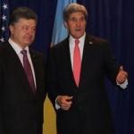 Керри похвалил украинцев за храбрость и верность свободе