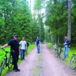 На велосипеде с ветерком
