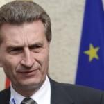 Эттингер: «ЕС может пережить зиму без российского газа»