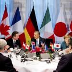 Лидеры G7 призвали боевиков на востоке Украины разоружиться