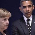 Обама и Меркель обсудили сохранение санкций против России