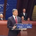 Речь Президента Украины Петра Порошенко в ПАСЕ