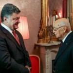 Порошенко встретился с президентом Италии