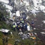 Во время падения самолета в Колумбии пилот криком требовал посадки из-за нехватки топлива