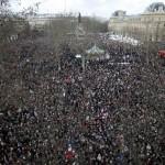В Париже прошел Марш единства