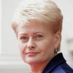 Грибаускайте: Пока Россия поддерживает террористов, диалог невозможен»