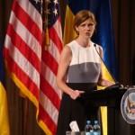 Саманта Пауэр в прощальной речи призвала сохранить санкции против России