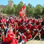 Рыцарские бои в исторической оправе