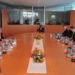Началась встреча Арсения Яценюка и Ангелы Меркель