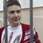 Савченко частично прекращает голодовку