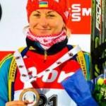 Биатлонистка Семеренко стала чемпионкой мира в масс-старте