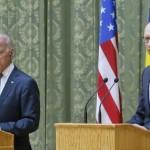 Байден и Яценюк призвали Москву выполнять минские соглашения