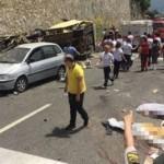 В Турции в ДТП попал автобус с туристами, погибло 20 человек