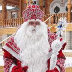 Дед Мороз из Великого Устюга приехал на праздничные гулянья в Барнаул