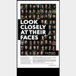 Лицо украинских героев появились на полосе The Washington Post