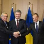 Петр Порошенко провел встречи с Жан-Клодом Юнкером и Дональдом Туском