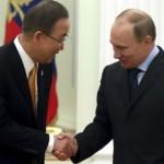 Путин заверил Генсека ООН, что не будет вводить войска в Украину