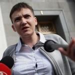 Для чего бывшая русская пленница Савченко ездила в Москву?