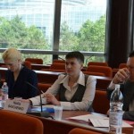 Савченко на сессии ПАСЕ: «Украина стоит на передовых рубежах огня»