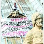 Протест на куполе собора Святого Петра