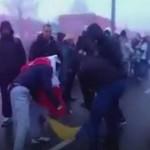 Посольство Украины в Польше отреагировало на сожжение флага во время Марша независимости