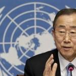 Пан Ги Мун: Конфликт в Украине не имеет военного решения»