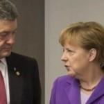 Порошенко и Меркель обсудили выделение макроэкономической помощи для Украины