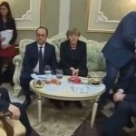 Началась встреча лидеров Украины, Франции, Германии и России в Минске