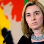 Могеріні: «Террористические «выборы» навредили миру»