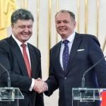 Президент Словакии: «Судьба Украины важна для всего ЕС»
