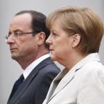 Меркель и Олланд грозят РФ новыми санкциями за нарушение минских соглашений