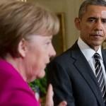 После встречи с Меркель Обама отказался поставлять Украине оружие
